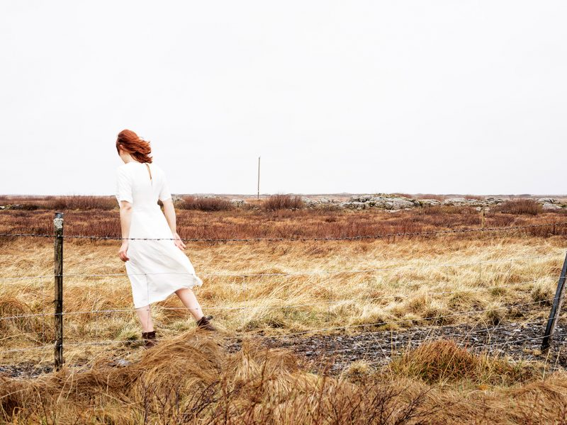 Delphine Millet Wonderland - Yellow field Iceland Photography - Art conceptual photographer in Berlin