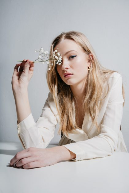 Fashion model Berlin Portrait Minimalist