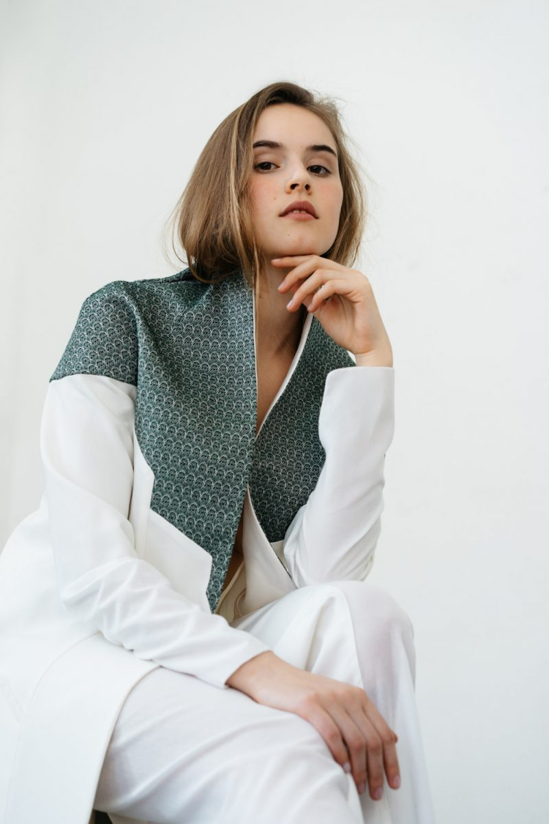 Delphine Millet Fashion photographer editorial Liebenow minimalist white simple photos clothing mode